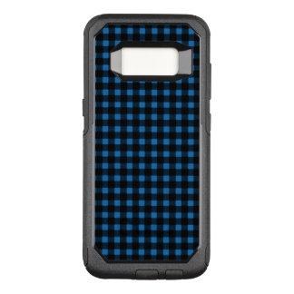 Holzfäller-blaues Schwarz-Winter-Büffel kariert OtterBox Commuter Samsung Galaxy S8 Hülle
