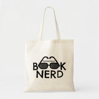 Homeschool Buch-Nerd-Taschen-Buch-Tasche Tragetasche