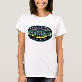 Homeschool Mamma-Überlebender T-Shirt