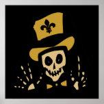 Homme de vaudou de la Nouvelle-Orléans Poster