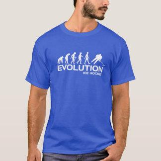 Hommes drôles de T-shirt d'évolution de singe de