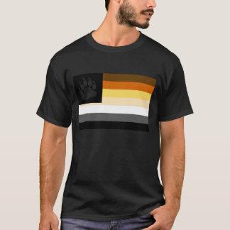 Homosexuelle Bärn-Stolz-Flaggen-Bärenpranke T-Shirt