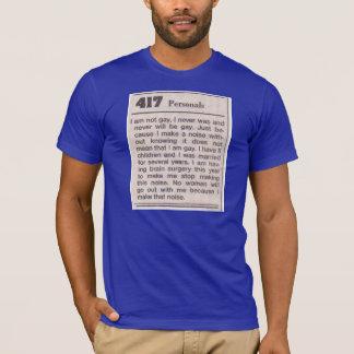 homosexuelle Geräusche T-Shirt