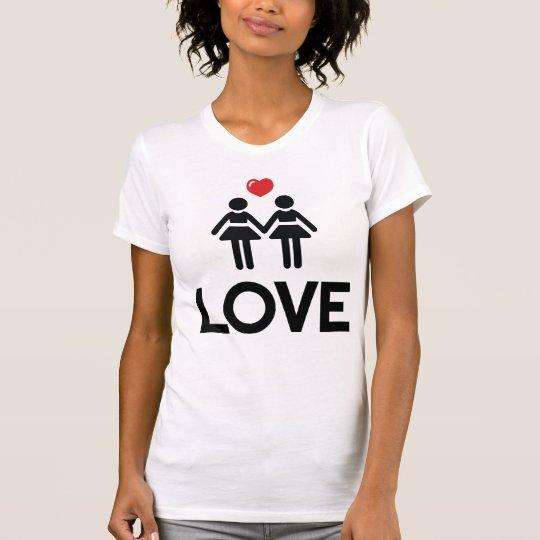 Homosexuelle Heirat-Shirt-Liebe für Frauen T-Shirt