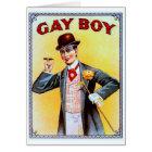 Homosexuelle Jungen-Zigarren Karte