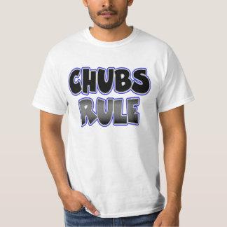 Homosexuelle mollige Geleitboot-Döbel-Regel T-Shirt