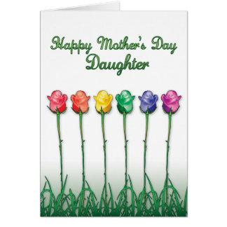 Homosexuelle Mutter-Tageskarten - Stolz-Rosen Karte