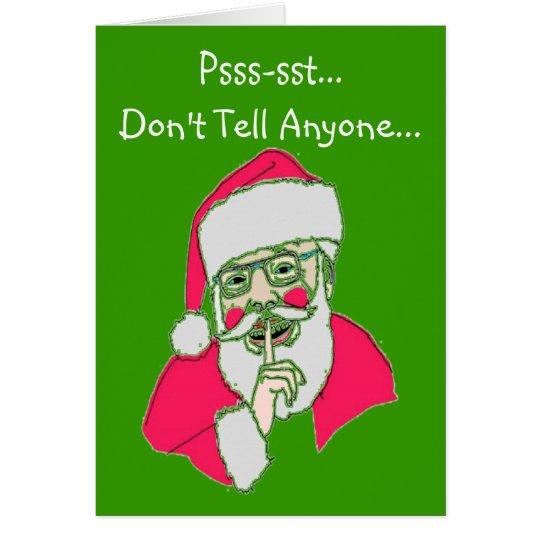 """Homosexuelle Weihnachtskarten---""""Die verdrehte Karte"""