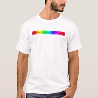Homosexueller Apotheken-Diversity-Behälter T-Shirt
