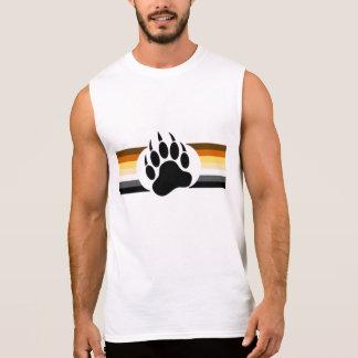 Homosexueller Bärn-Stolz färbt Streifen und Ärmelloses Shirt