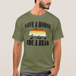 Homosexueller Bärn-Stolz retten einer Pferdefahrt T-Shirt