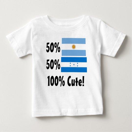 Honduraner 100% 50% Argentinier-50% niedlich Baby T-shirt