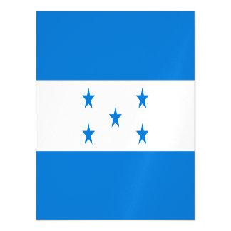 Honduras-Flagge Magnetische Karte