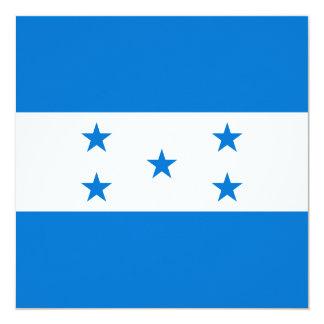 Honduras-Flagge Quadratische 13,3 Cm Einladungskarte