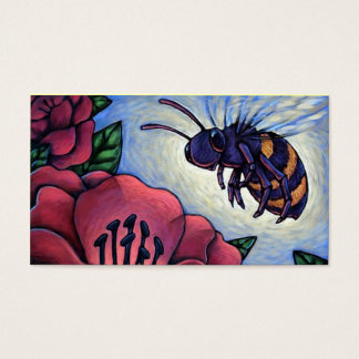 Honey Bee Beekeepers Business Contact Card Product Visitenkarte