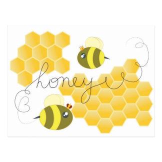 honey postkarte