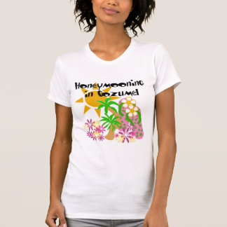 Honeymooning in Cozumel T-Shirt
