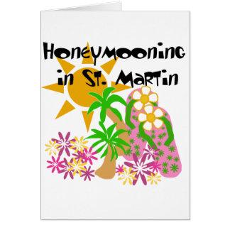 Honeymooning in St Martin Karte