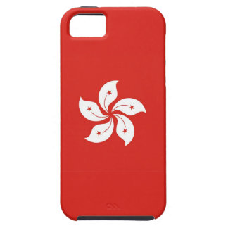 Hong- Konglandflaggen-Blumenfall iPhone 5 Etui