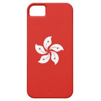 Hong- Konglandflaggen-Blumenfall iPhone 5 Etuis