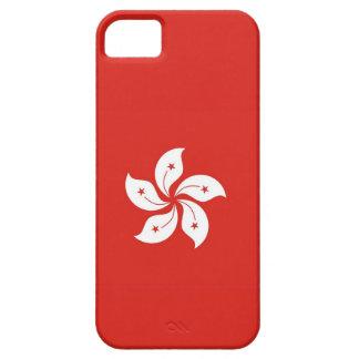 Hong- Konglandflaggen-Blumenfall iPhone 5 Schutzhüllen