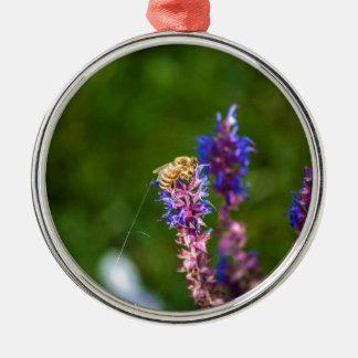 Honig-Biene Silbernes Ornament