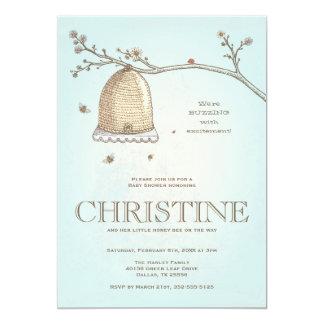 Honig-Bienen-Babyparty-Einladung 12,7 X 17,8 Cm Einladungskarte