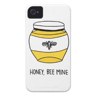 Honig, Bienen-Bergwerk iPhone 4 Case-Mate Hülle