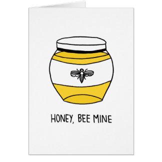 Honig, Bienen-Bergwerk Karte