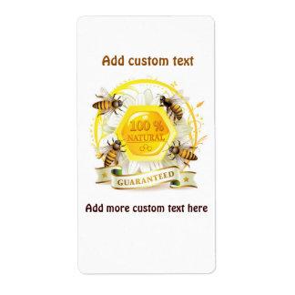 Honig-Bienen-Honig-Verkäufer-ImkerApiarist