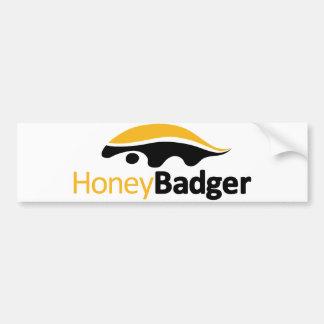 Honig-Dachs-Logo Autoaufkleber