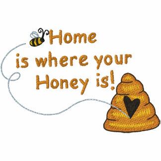 Honig ist Zuhause