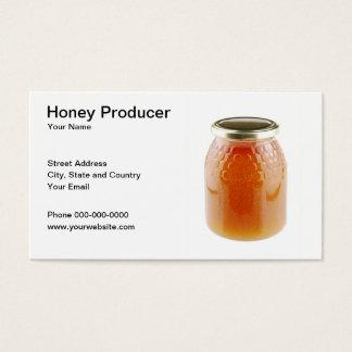 Honig-Produzent-Visitenkarte Visitenkarten