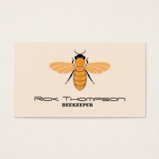 Honig-Verkäufer/Imker-Bienen-Licht Visitenkarte