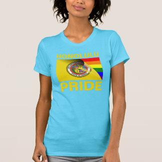 Honolulu-Gay Pride-Regenbogen-Flagge T-Shirt
