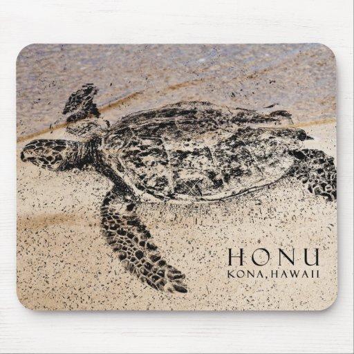 Honu - hawaiische Meeresschildkröte Mauspad
