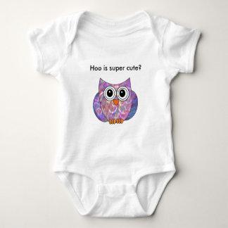 Hoo ist super niedliches Onsie Baby Strampler