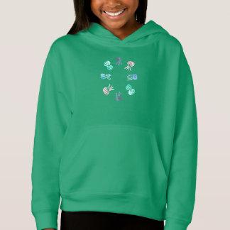 Hoodie der Quallen-Mädchen der Pullover