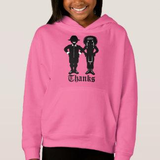 Hoodie-festliches Feiertags-Shirt des Mädchens der Hoodie