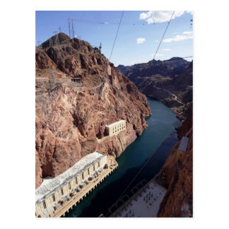 HooverdammSpillway, Arizona-Postkarte Postkarte