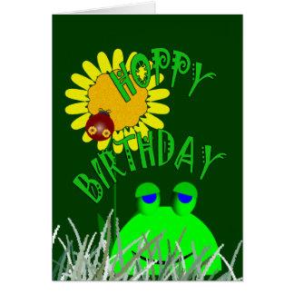 Hopfenreicher Geburtstag Karte