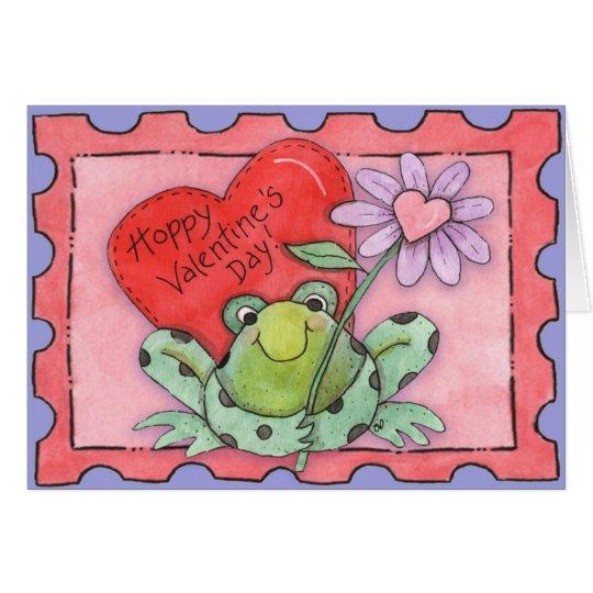 Hopfenreicher Valentinstag - Gruß-Karte Grußkarte