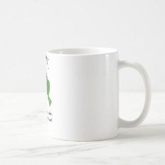 Hören Sie mich nicht Frosch ab Kaffeetasse