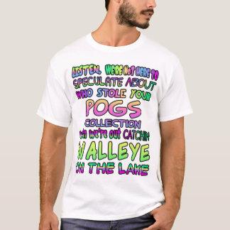 , Hören wir sind nicht hier, über Ihr POG zu T-Shirt