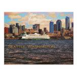Horizon de Seattle Carte Postale