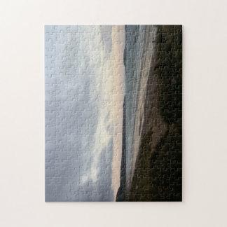 Horizont des Gower Strand-Foto-Puzzlespiels