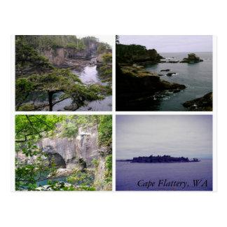 Horizontale Collagenpostkarte der Kap-Schmeichelei Postkarte