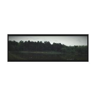 Horizontale See-Veiw eingewickelte Leinwand Gespannter Galerie Druck