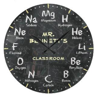 Horloge de Personalizable de tableau de la Science