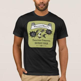 Hornhautflecke Walts Trenton-Kanal-Sushi-Bar T-Shirt